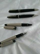 4 Pc Waterman Pens Fountain Pen 1 Pc Roller Pen 1 Pc Ball Pen 2 Pc - $177.21