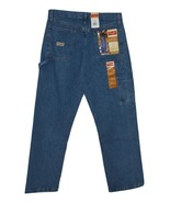 Wrangler  Men's Relaxed Fit Carpenter Jeans - Antique Stone 30x32 - $13.50