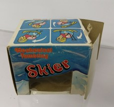 "Vintage Mechanical Tumbling Skier 3"" with box.  Borgfeldt Co. NY 1960's - $85.00"
