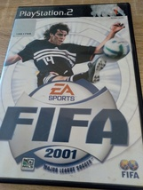 Sony PS2 FIFA 2001 Major League Soccer - $4.00