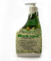 Miracle Lotion with God Heals Oil Made From 17 Natural Oils 16 oz. FREE ... - $13.09