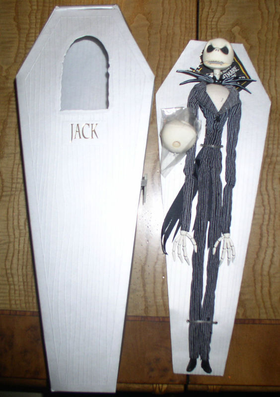 Nightmare Before Christmas - Jack -  NMBC - Doll - USA Exclusive market