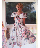 Butterick 5340 Vintage 80s Pattern Girls 12 Jr Brides Maid - $6.95
