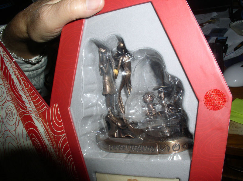 Nightmare Before Christmas - Jack and Sally - LSB - Bronze -  Tim Burton