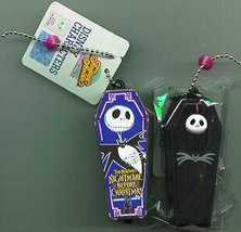Nightmare Before Christmas Jack bat bow tie coffin - $25.99