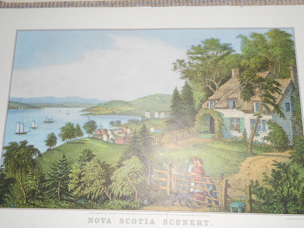 Reprints Summer scenes set of 2 Currier & Ives