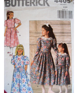 Butterick 4405 Vintage 80s Pattern Girls 4 to 6 Flower Girl - $5.95