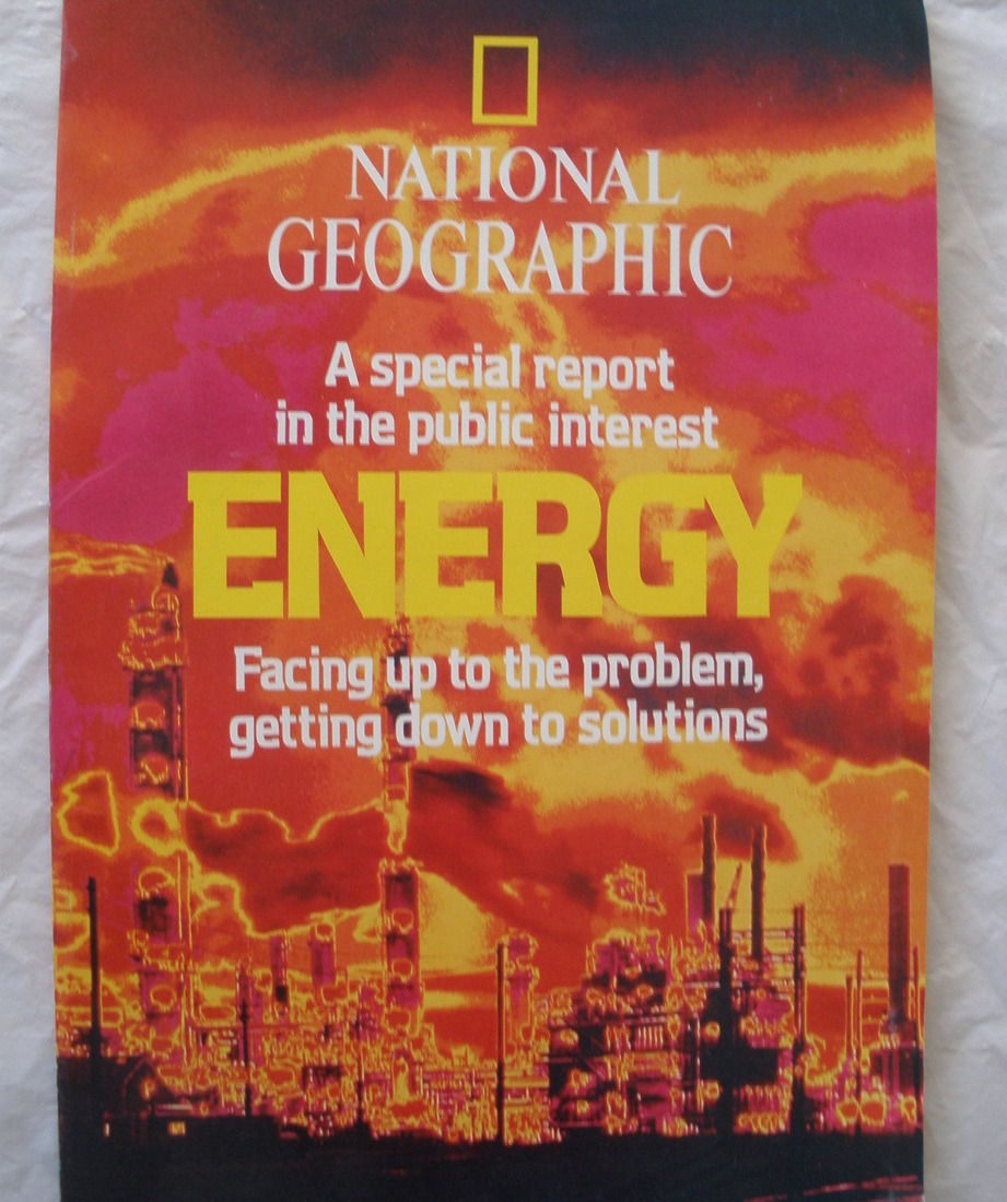 National Geographic Magazine - Feb. 1981 - Special Report on Energy