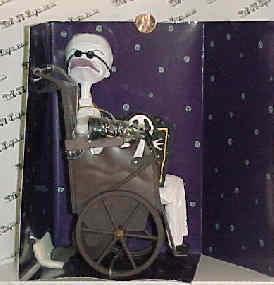 Nightmare Before Christmas - Scientist - Doll - NMBC - Jun Planning - MIB rare