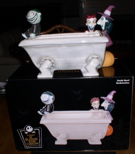 Nightmare before Christmas - NMBC -  LSB tub - Candy Dish - Disney - Tim Burton