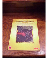 2001  22 Acoustic Guitar Hits Song Book, songbook - $9.95