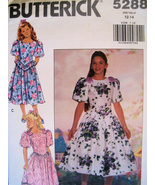 Butterick 5288 Vintage 80s Pattern Girls 12 to 14 Jr Brides  - $9.95