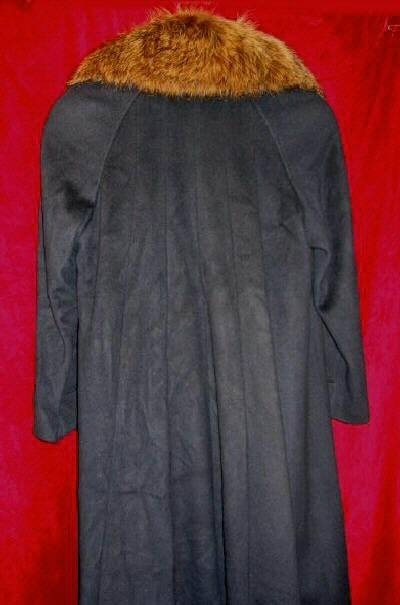Womens Forstmann Alorna Fur Coat Wool Jacket Mink Sz 10