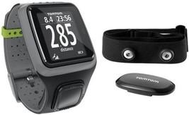 TOMTOM SPORTWATCH RUNNER GPS & HART RATE MONITOR DARK GREY *NEW FREE SHI... - $190.00