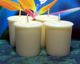 Bird of Paradise PURE SOY Votives (Set of 4) - $7.00