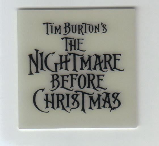 Tim Burton Nightmare Before Christmas Glow in Dark Jack Sally Mayor Zero LSB
