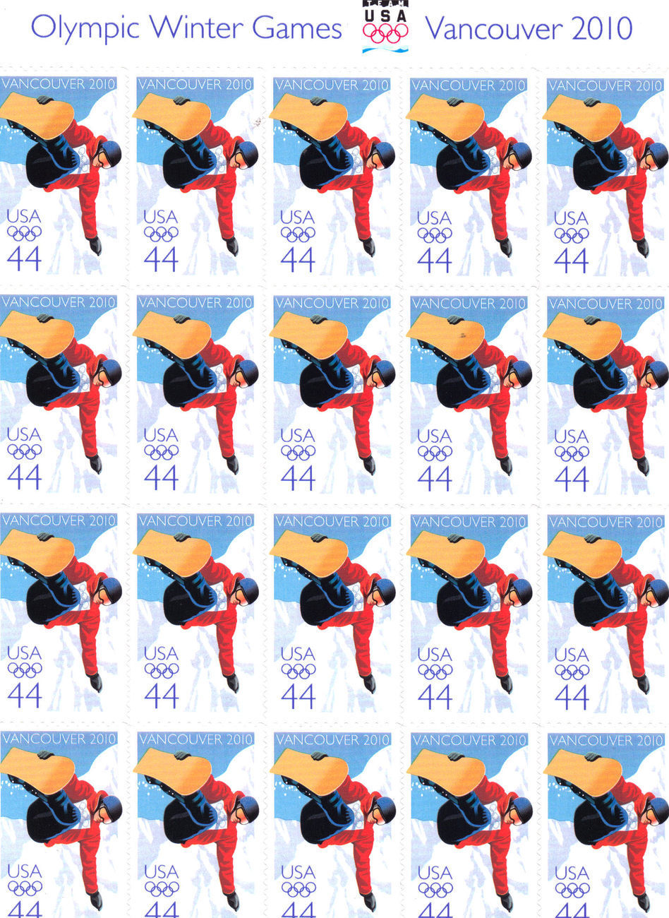 Stamps olympic winter games