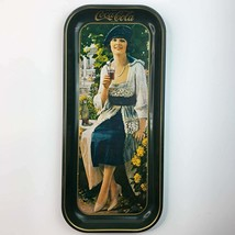 "Vintage Coca-Cola Serving Metal Tray Gibson Girl Drink Coke 8.5"" X 19"" 1973 - $74.25"