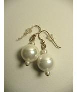 Karina's Pearl on Pearl on Pearl 14K GF Wire Dangle Earrings - $19.99