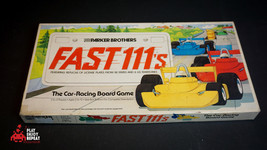 Parker Brothers Rápido 111's Juego de Mesa 1981 Vintage Rápido - $47.46