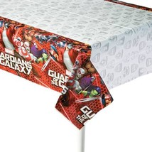Guardians of the Galaxy 2 Plastic Table Cover 1 Count Birthday Party Sup... - $6.39
