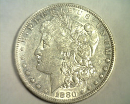 1880-O MORGAN SILVER DOLLAR ABOUT UNCIRCULATED AU NICE ORIGINAL COIN BOB... - $52.00