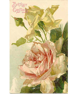 Birthday Greetings Tuck and Son Vintage Post Card - $3.00