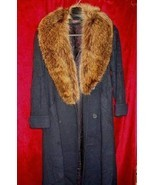 Womens Forstmann Alorna Fur Coat Wool Jacket Mink Sz 10 - $255.00
