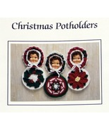 JAO Crochet Pattern CHRISTMAS POTHOLDERS 3 Fun Patterns! - $3.99
