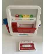 Mattel Fisher Price Kids Cassette Player Recorder w/ Microphone 02178 PR... - $15.95