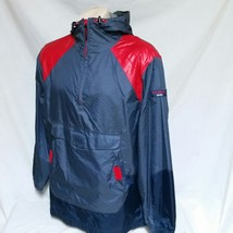 VTG 90s Tommy Hilfiger Jeans Windbreaker Jacket Colorblock Sailing Coat Medium - $99.99
