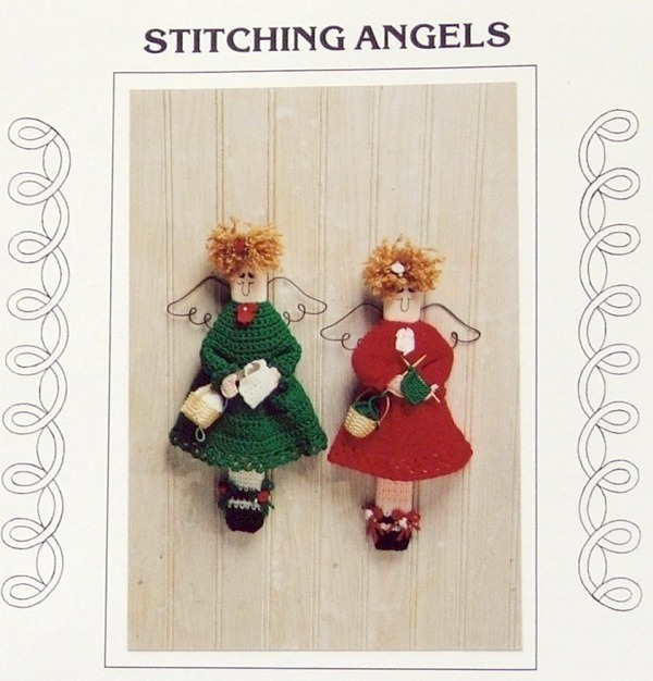 JAO Knit/Crochet Pattern STITCHING ANGELS Knit and Crochet!