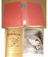 12 Wilson Bulletin Bound 1930-2 Field Ornithology Birds Midwest South Da... - $20.00