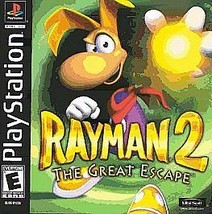 Rayman 2: The Great Escape (Sony PlayStation 1, 2000) GOOD - $14.17