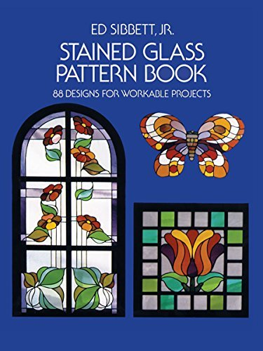 Stained Glass Pattern Book: 88 Designs for Workable Projects (Dover Stained Glas
