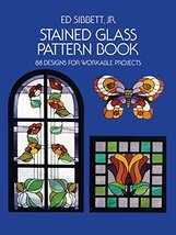 Stained Glass Pattern Book: 88 Designs for Workable Projects (Dover Stai... - $23.76