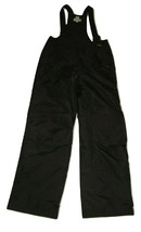 Slalom Ski Snow Bib Pants Size XL Kids Youth Black Insulated - $24.74