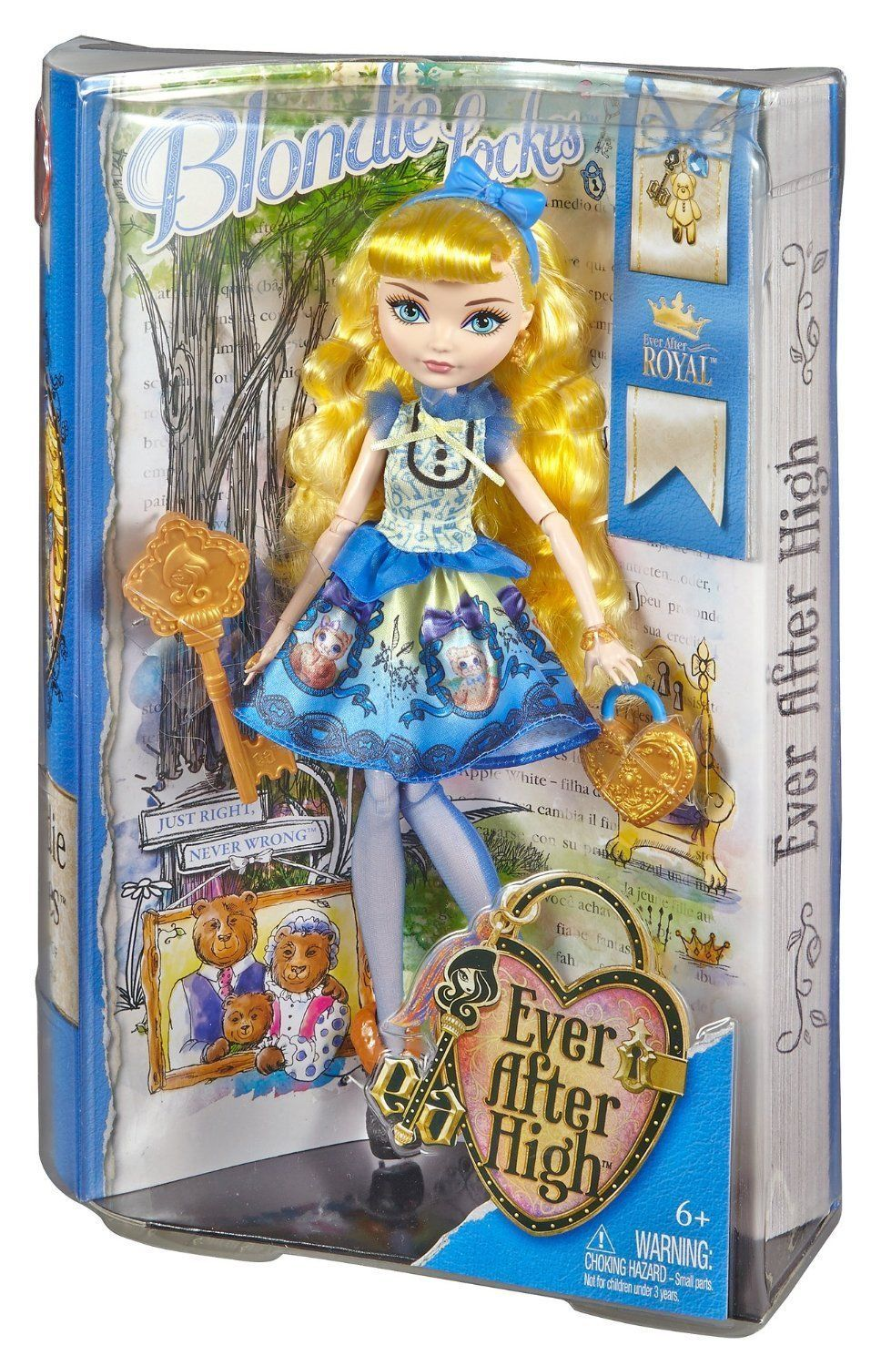 Image 1 of Ever After High Blondie Lockes Fashion Doll, 6+, Mattel