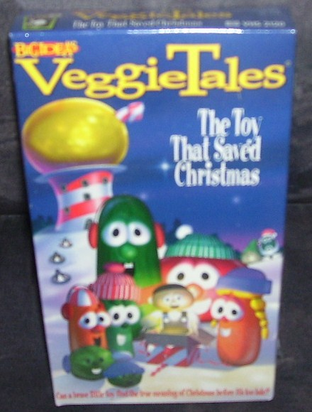 Veggie tales the toy that saved christmas vhs new