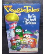 Veggie Tales THE TOY THAT SAVED CHRISTMAS VHS Video NEW! - $5.99