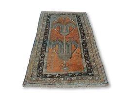 Vintage Turkey Rug, Moroccan Rug, Vintage Area Rug, Turkish Hand Woven V... - $901.12