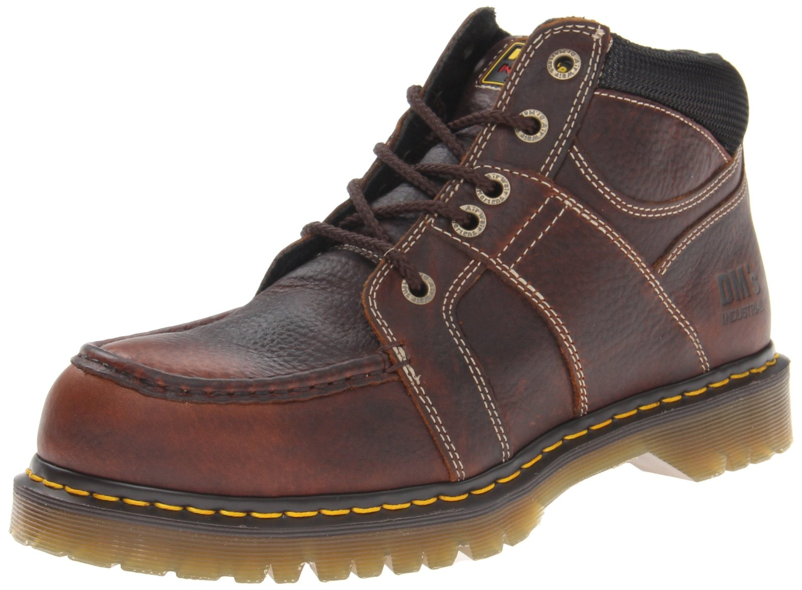 Dr. Martens Men's Darby ST Work Boot,Teak Industrial Bear,8 UK/9 M US