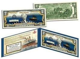 TITANIC Ship 100th Anniversary Official $2 Bill FAMOUS NIGHTTIME ICEBERG... - $13.81