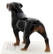 Hagen-Renaker Miniature Ceramic Dog Figurine Rottweiler image 4