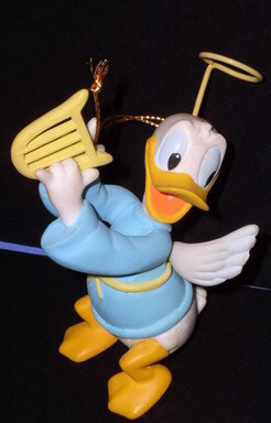 Disney Donald Duck Angle Ornament  Figurine