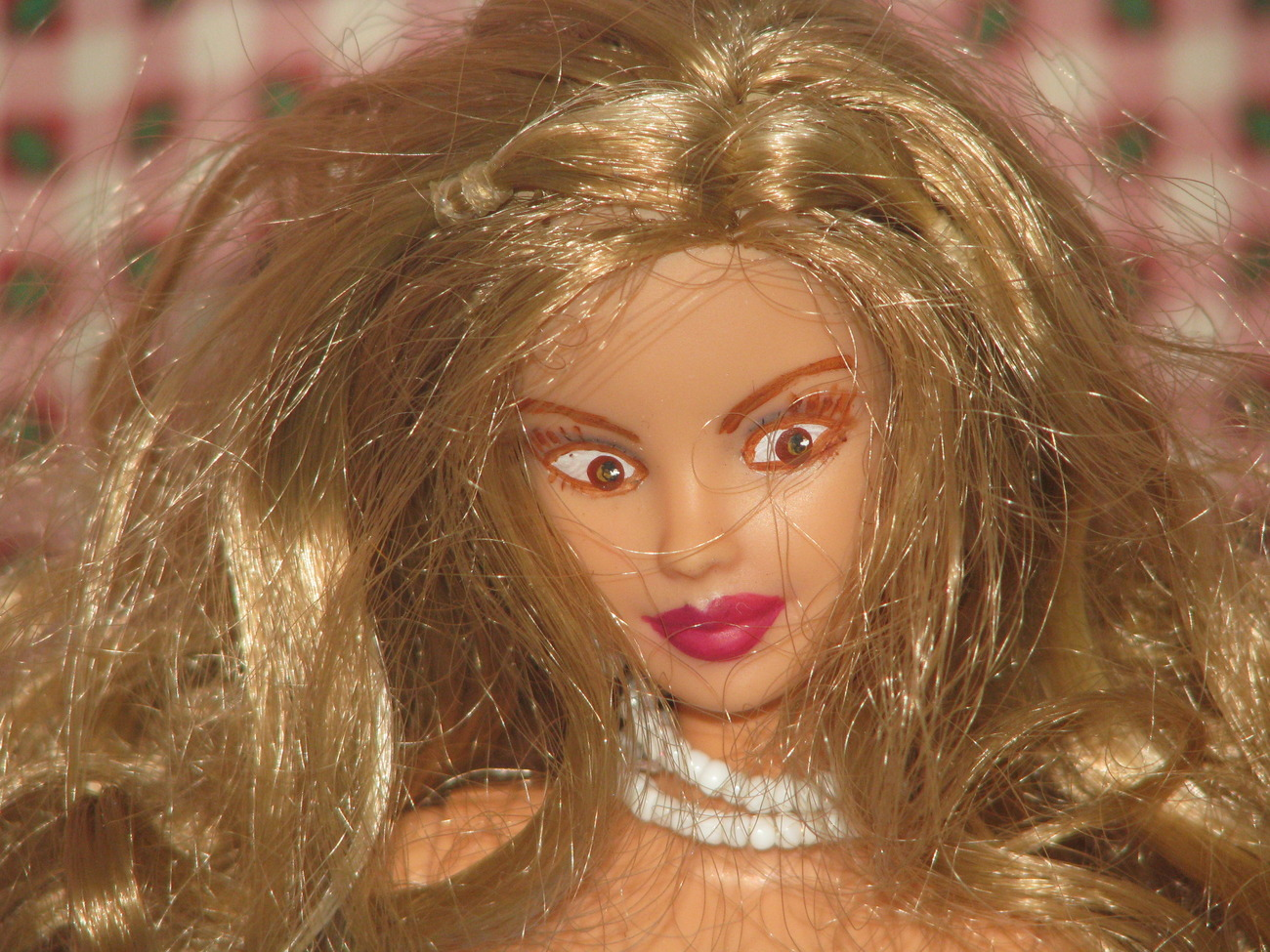 Fashion Doll Amberlee OOAK Christmas Barbie