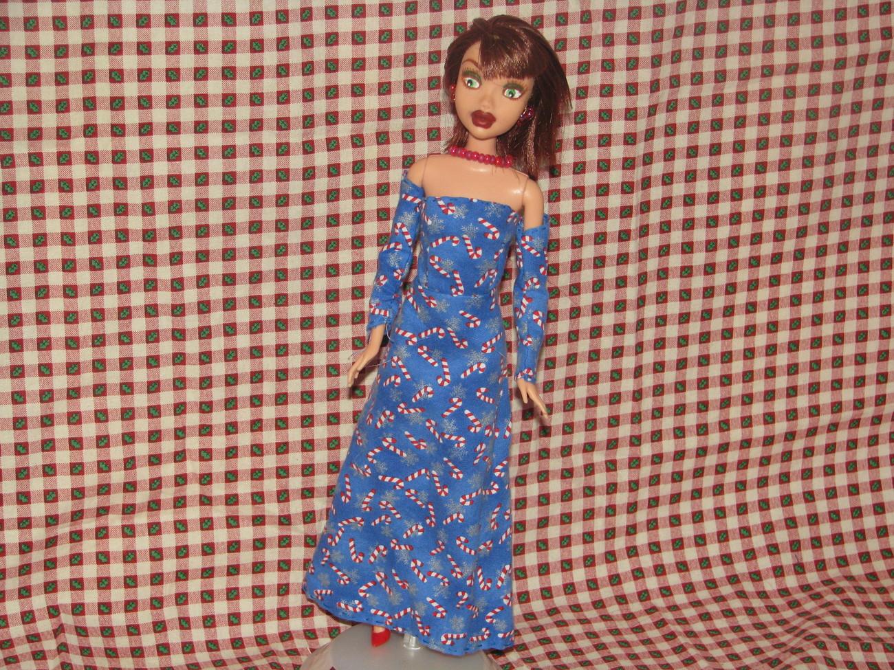 Fashion Doll Hope OOAK Christmas Barbie