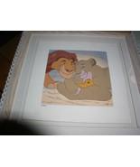 Disney Lion King  Simba & Mufasa Serigraph LE Art - $342.11