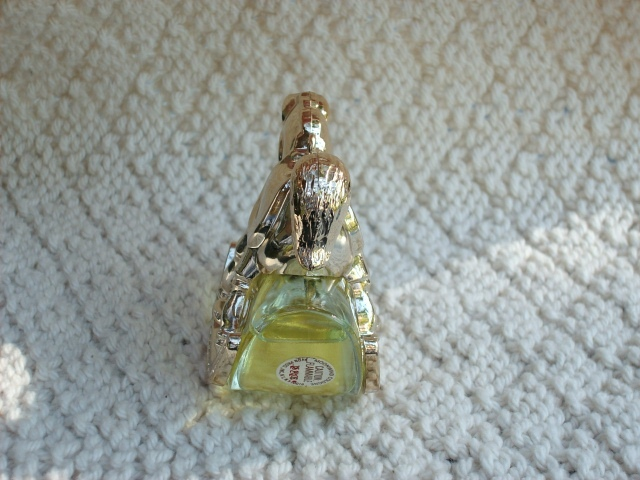 "Avon 1980 ""ROCKING HORSE"" Tree Ornament w/.75 oz Moonwind Cologne - New In Box!"