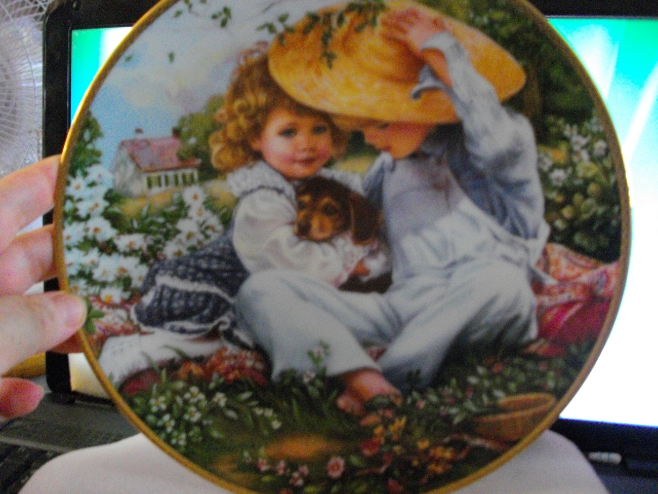 Collectible Plate by Sandra Kuck